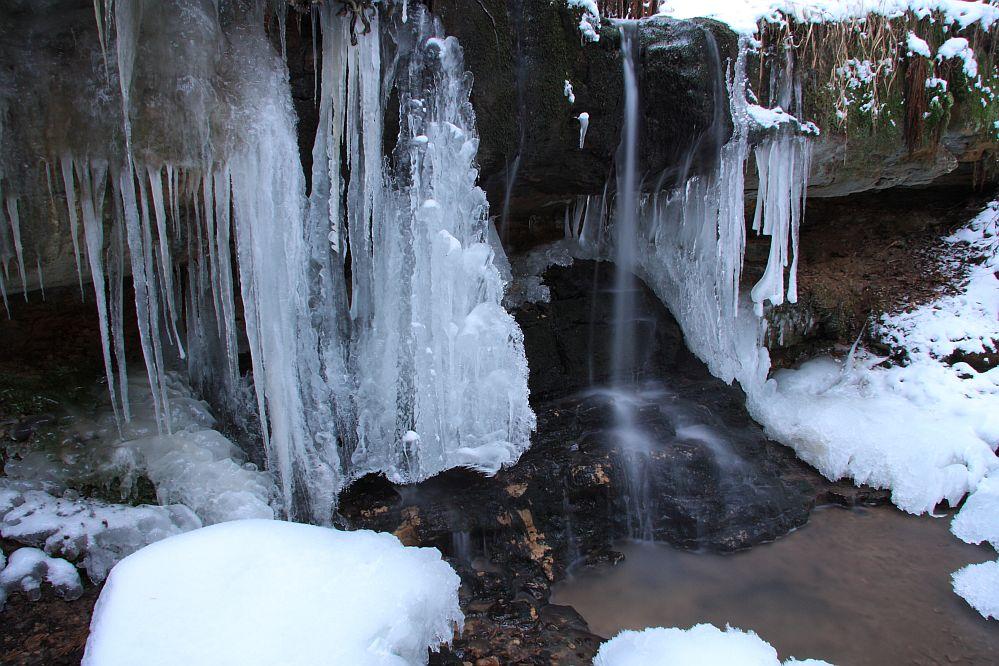 Naturdenkmal Pfersagwasserfall