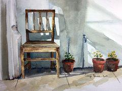 Nature morte (1) - La chaise