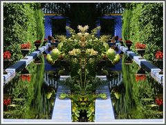 Naturgeister durch Spiegelung
