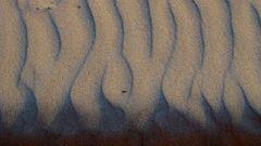 Naturkunst - nur Sand und Wind...