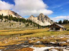 Naturpark Fanes Sennes Prags, Dolomiten