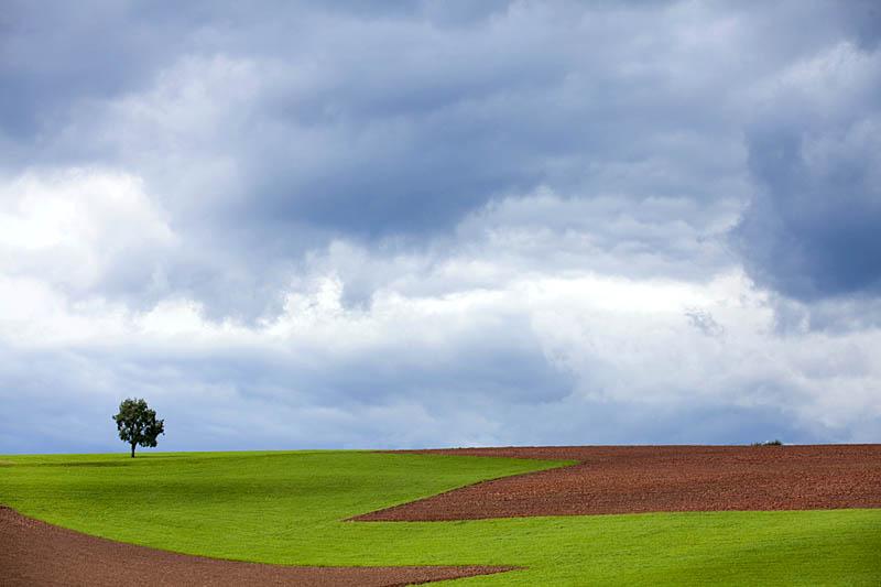 Naturpark Kellerwald - Agrarlandschaft - Wolkenstimmung