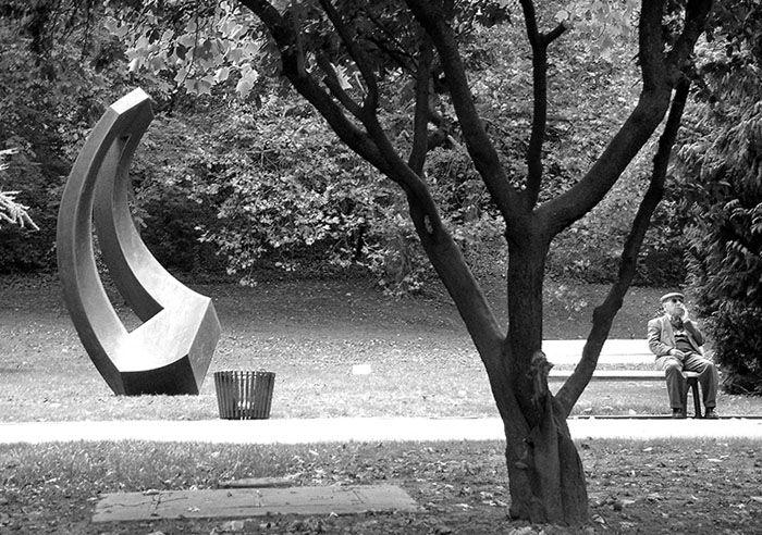 Natur/Skulptur/Mensch