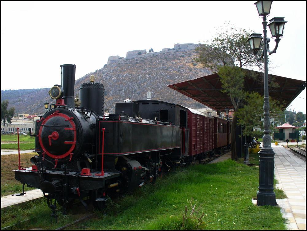 Nauplia - Die Peloponnes-Schmalspurbahn