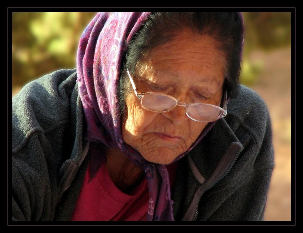 Navajo âgée