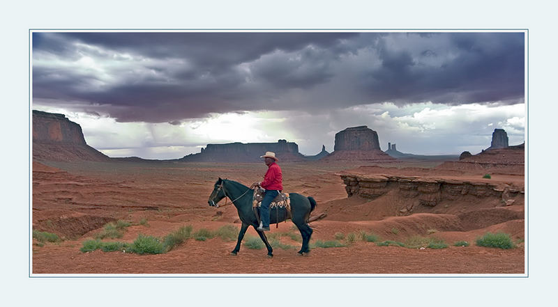 Navajo-Indianer im Monument Valley