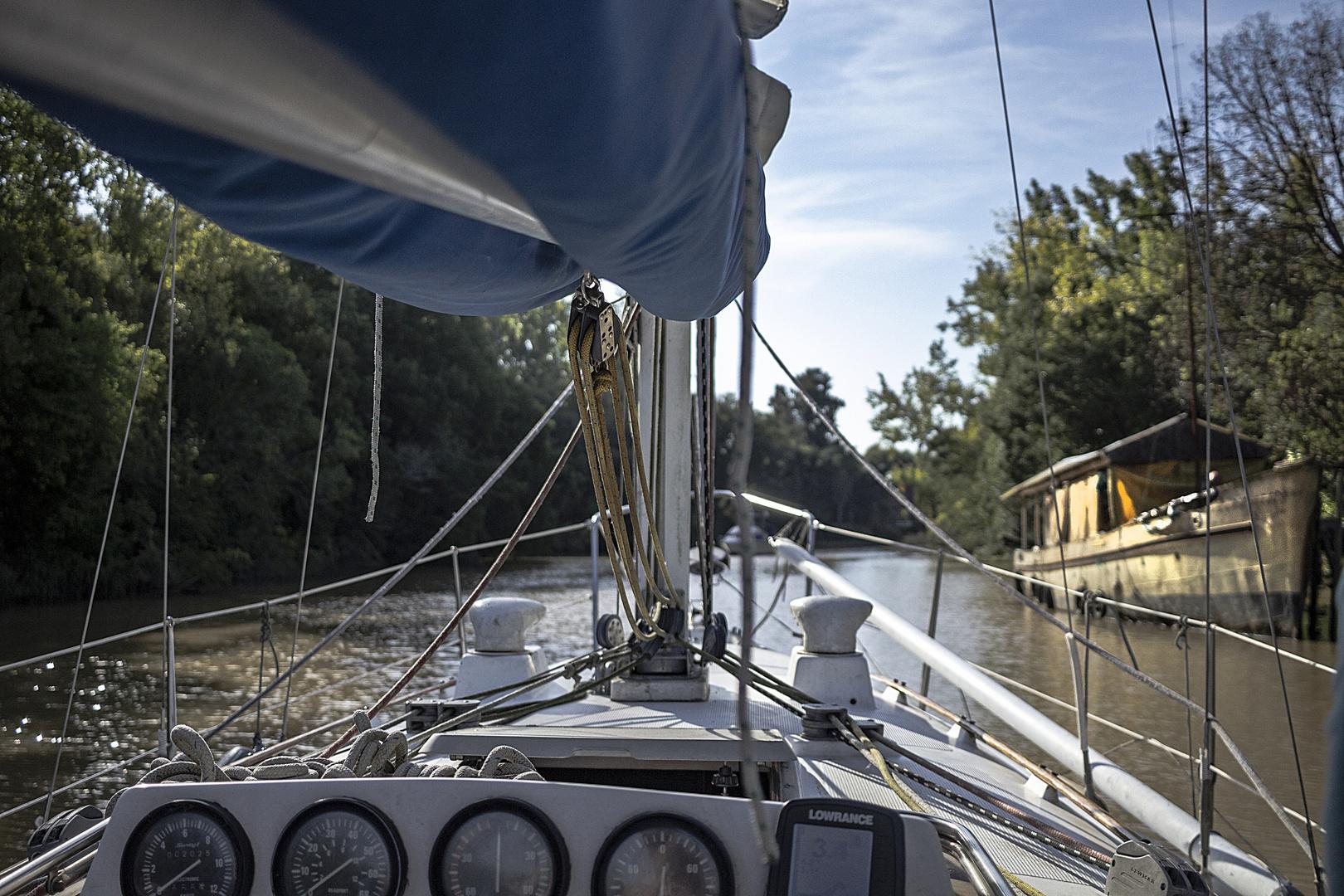 Navegando el río Pajarito