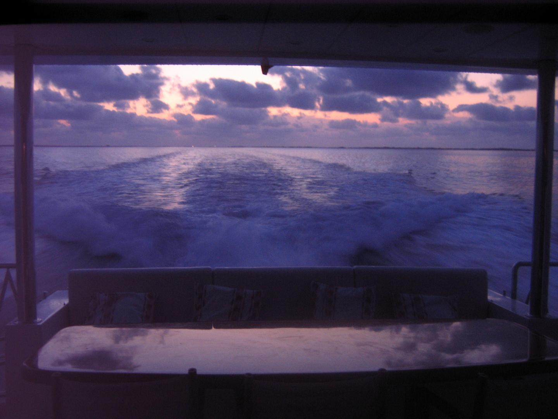 navegando en la noche
