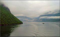 Navegando nei fiordi.