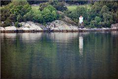 * Navegando nel fiordo di Geiranger *