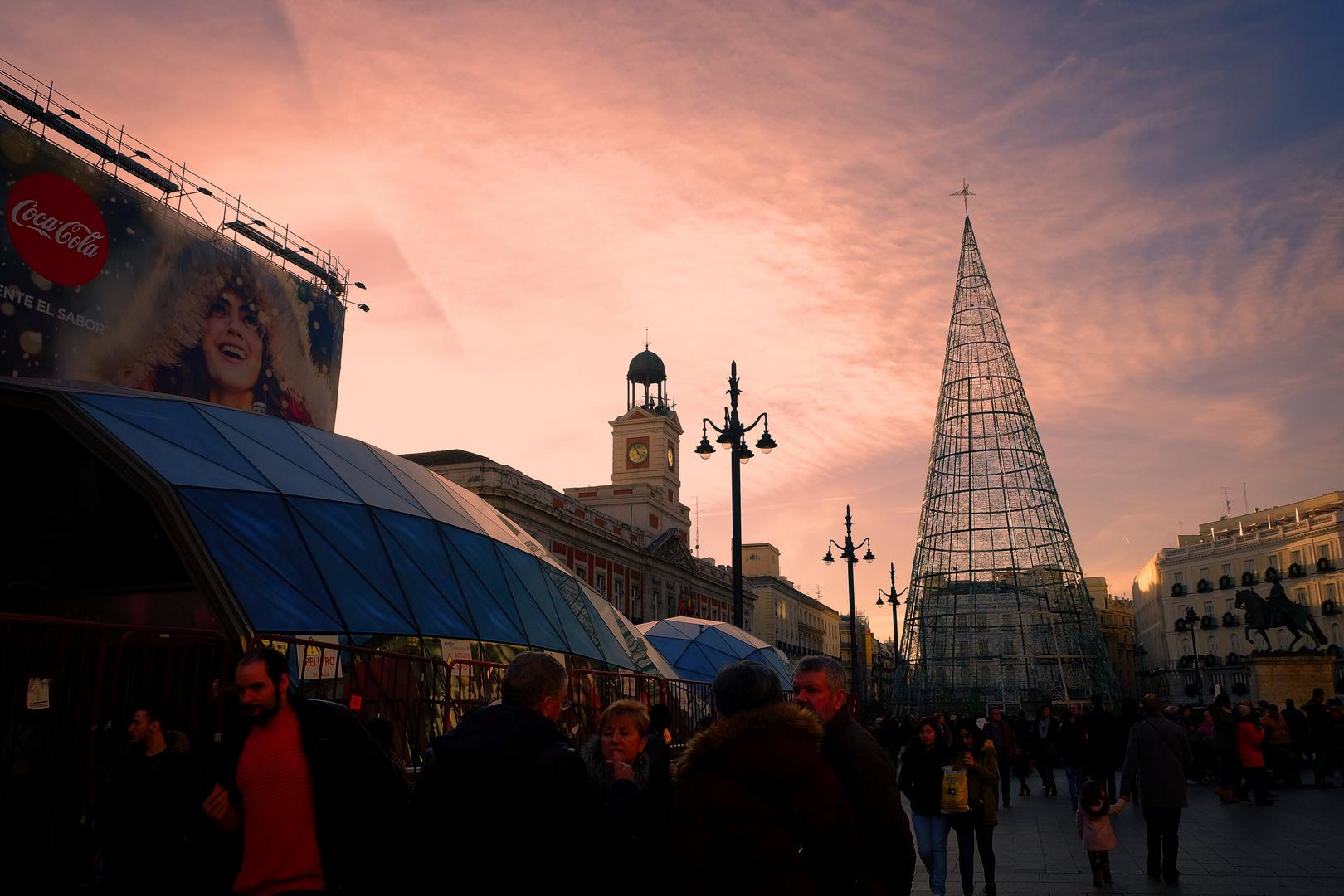 Navidades en Sol, Madrid