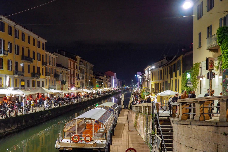 Naviglio Grande in Mailand