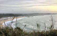 Nazaré - der südliche Strand