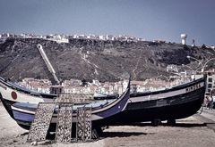Nazare Portugal. Am Strand  DSC_2834
