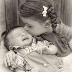 ne pleure pas ! je t'aime mon petit frère