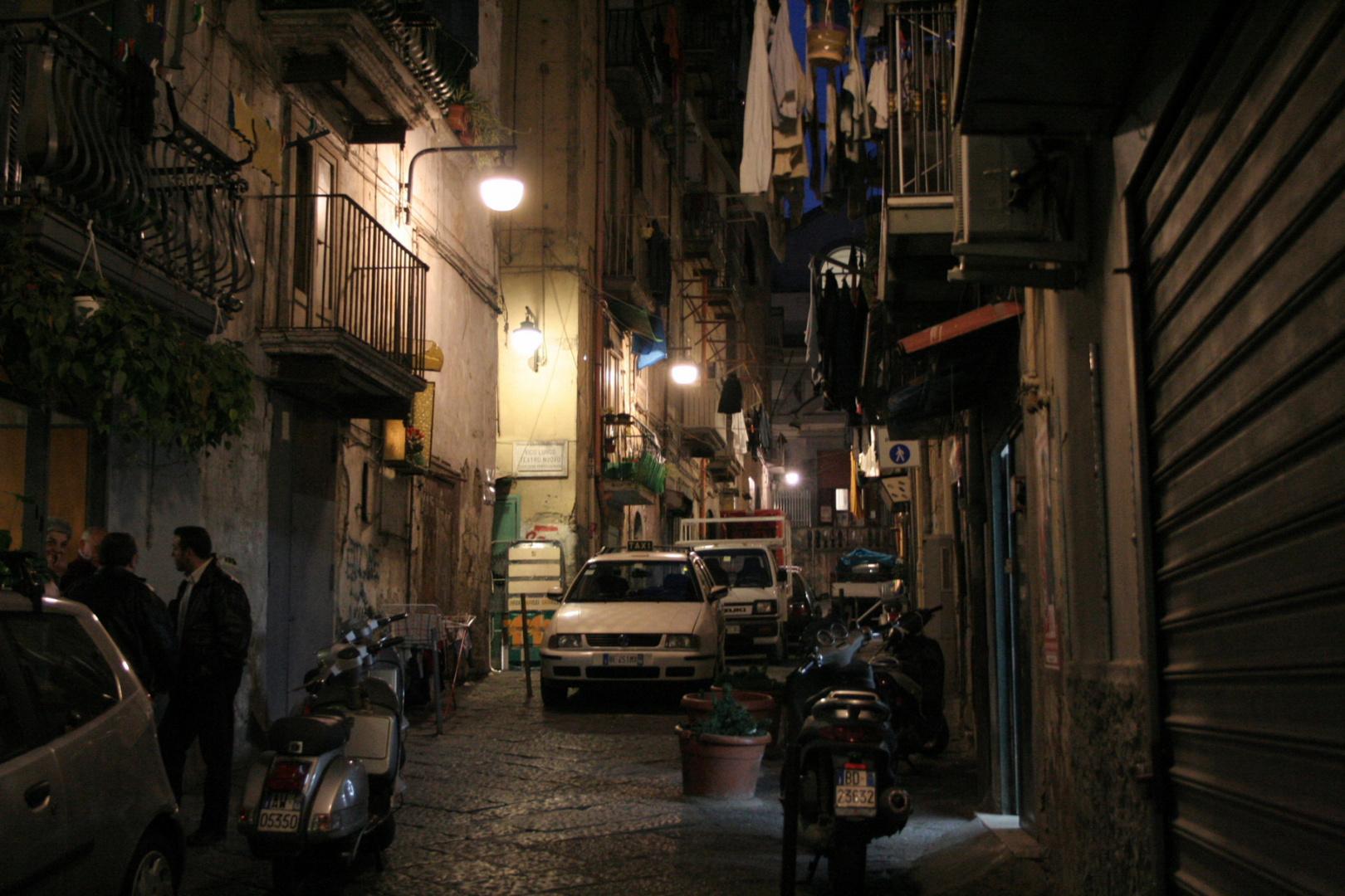 Neapel: Abend im spanischen Viertel