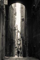 Neapel, typische Altstadtgasse