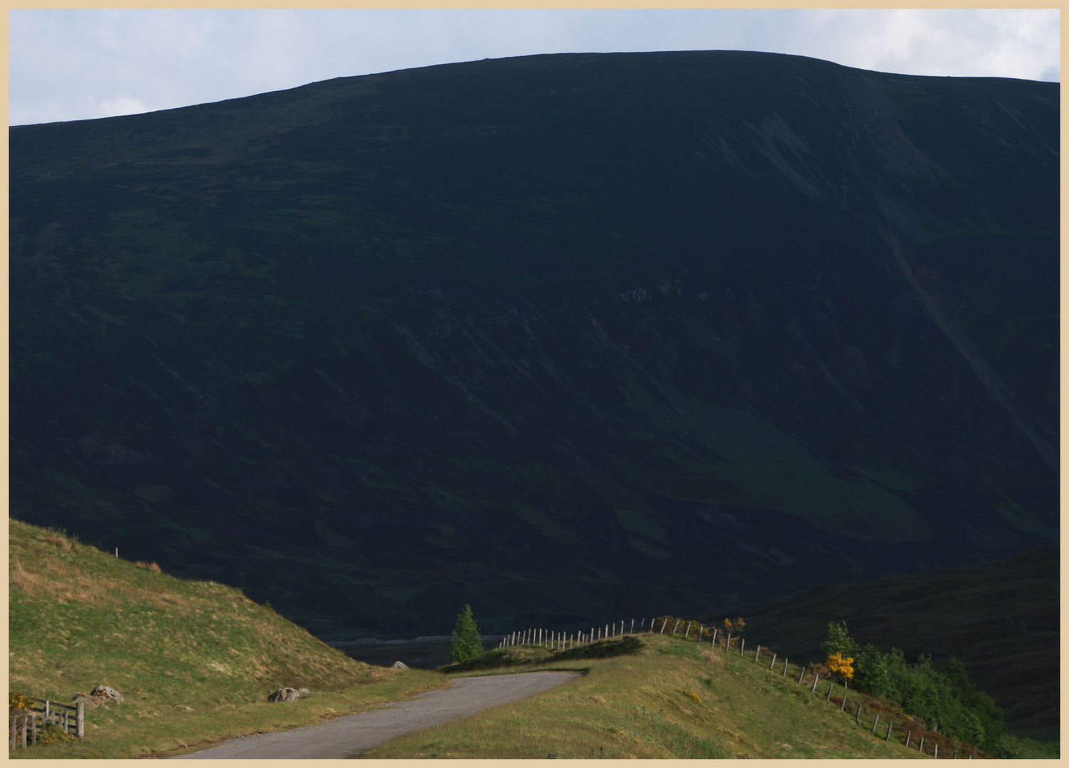 near the pass of drumochter 3