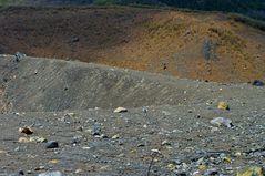 Near the volcano