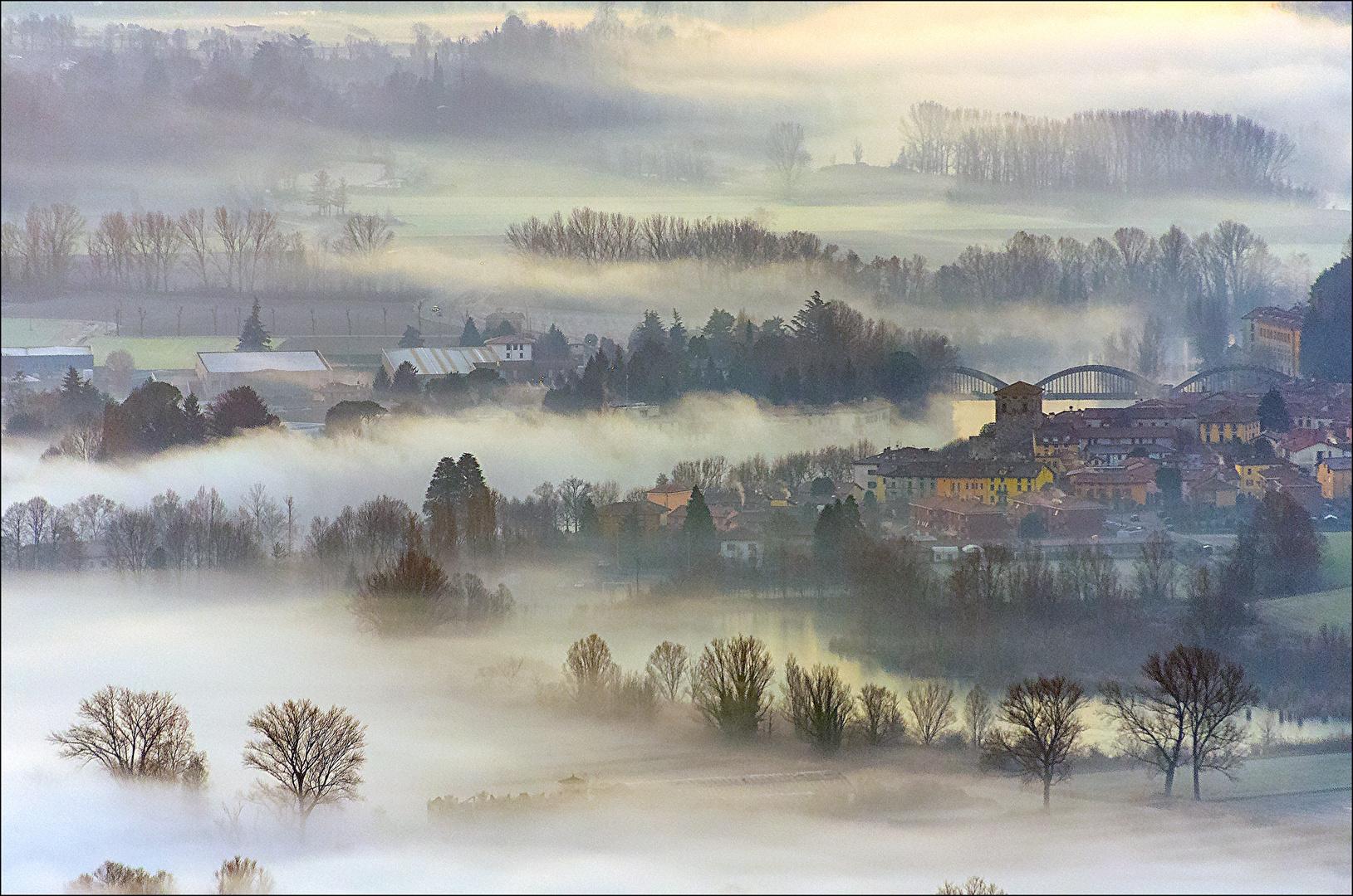 nebbie  invernali