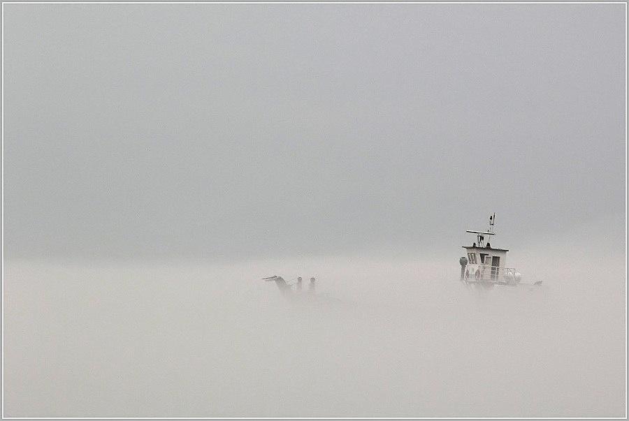 Nebel am Baikal..