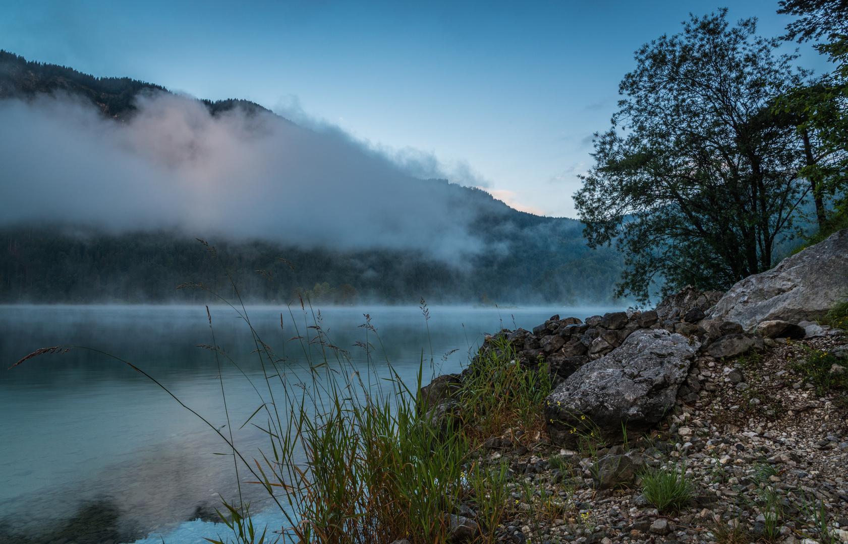 Nebel am Eibsee