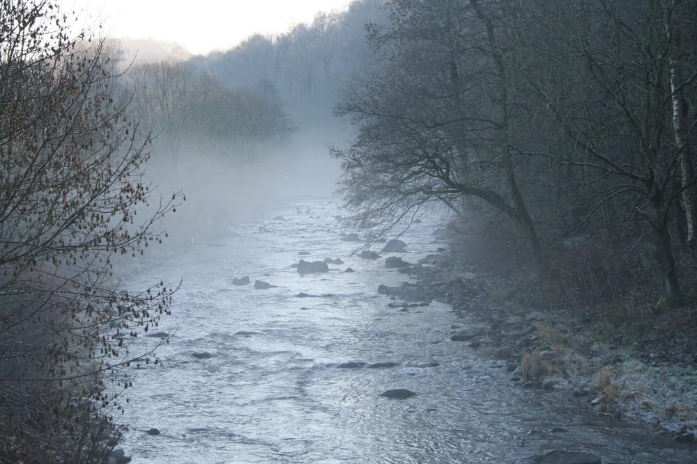 Nebel am Silberfluß