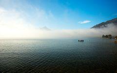 Nebel am Thunersee