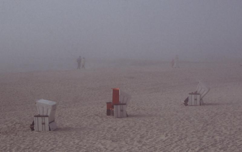 Nebel bei Westerland