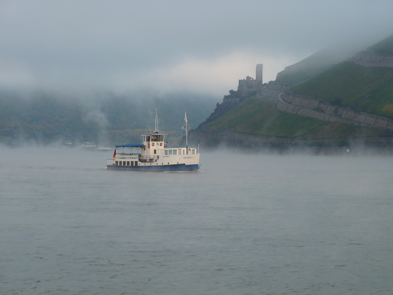 Nebel im Bingerloch