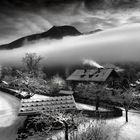 Nebel in Berchtesgaden