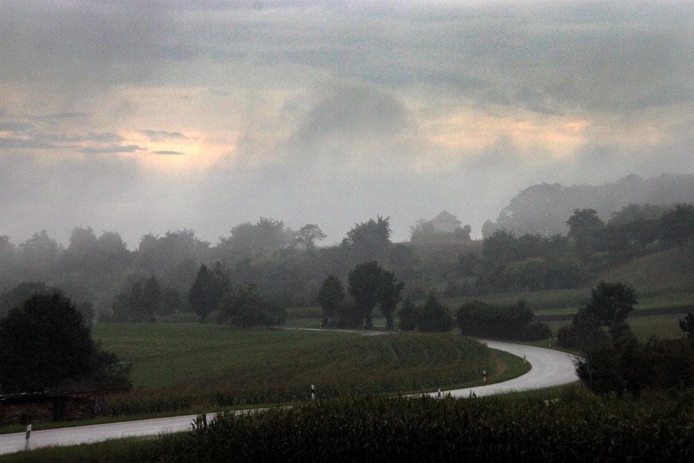 Nebel in Buhlbronn