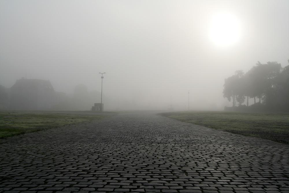 Nebel in Crange