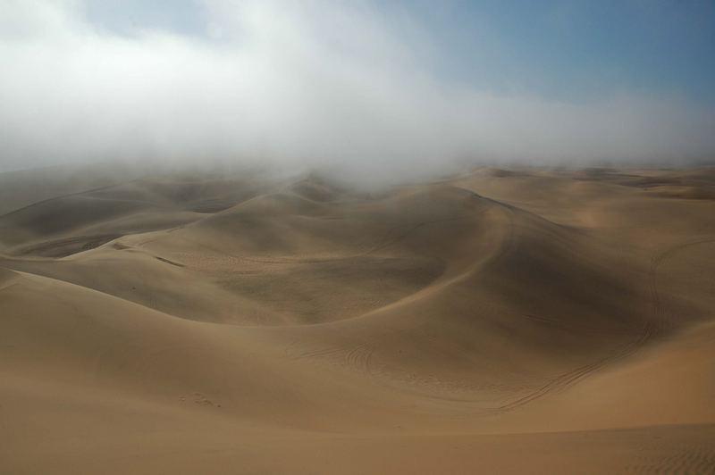 Nebel in der Namib