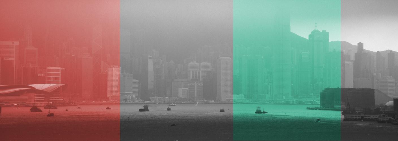 Nebel in Farbe