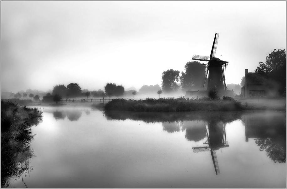 Nebel in Holland