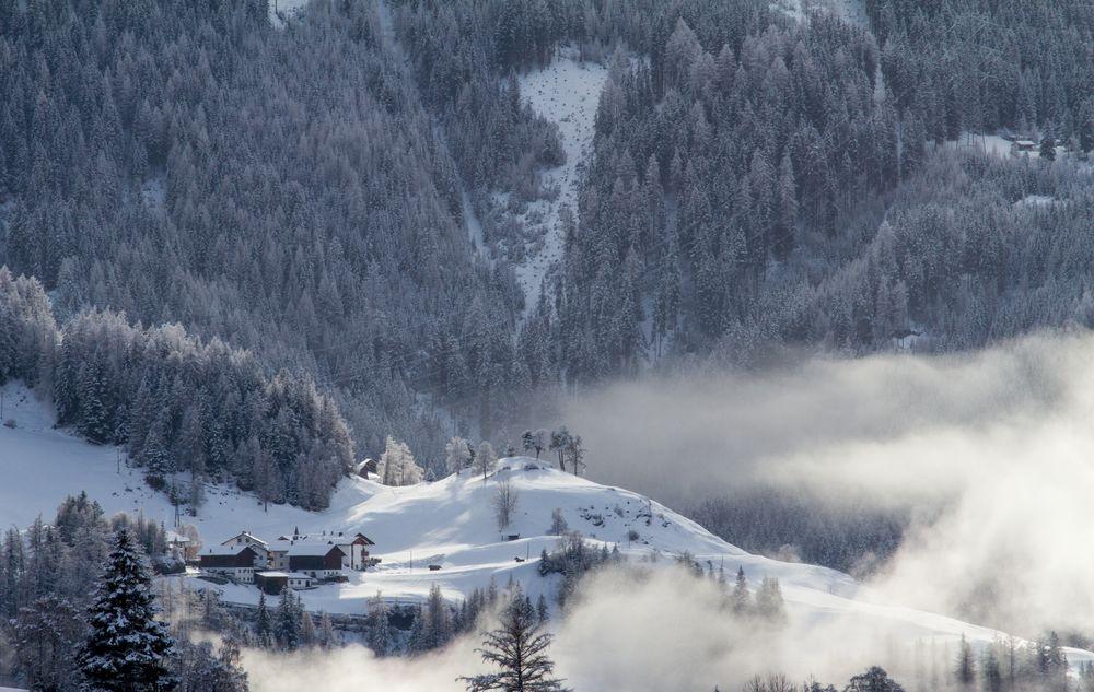 Nebel in Tirol