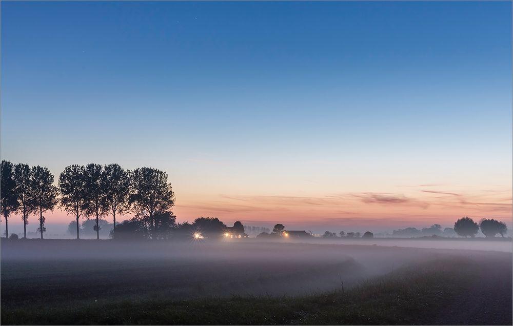 Nebel macht sich breit