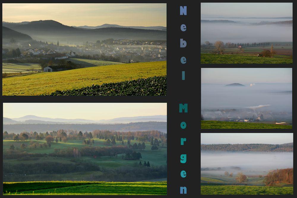 Nebel - Morgen......