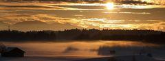 Nebel rollt heran am Fohnsee, reloaded