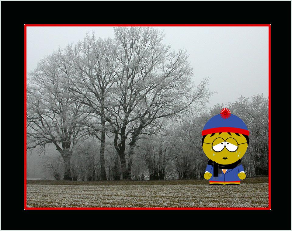 Nebel stimmt ihn traurig