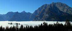 Nebel über dem Königssee