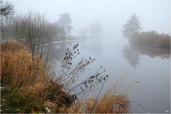 Nebel über der Hamme
