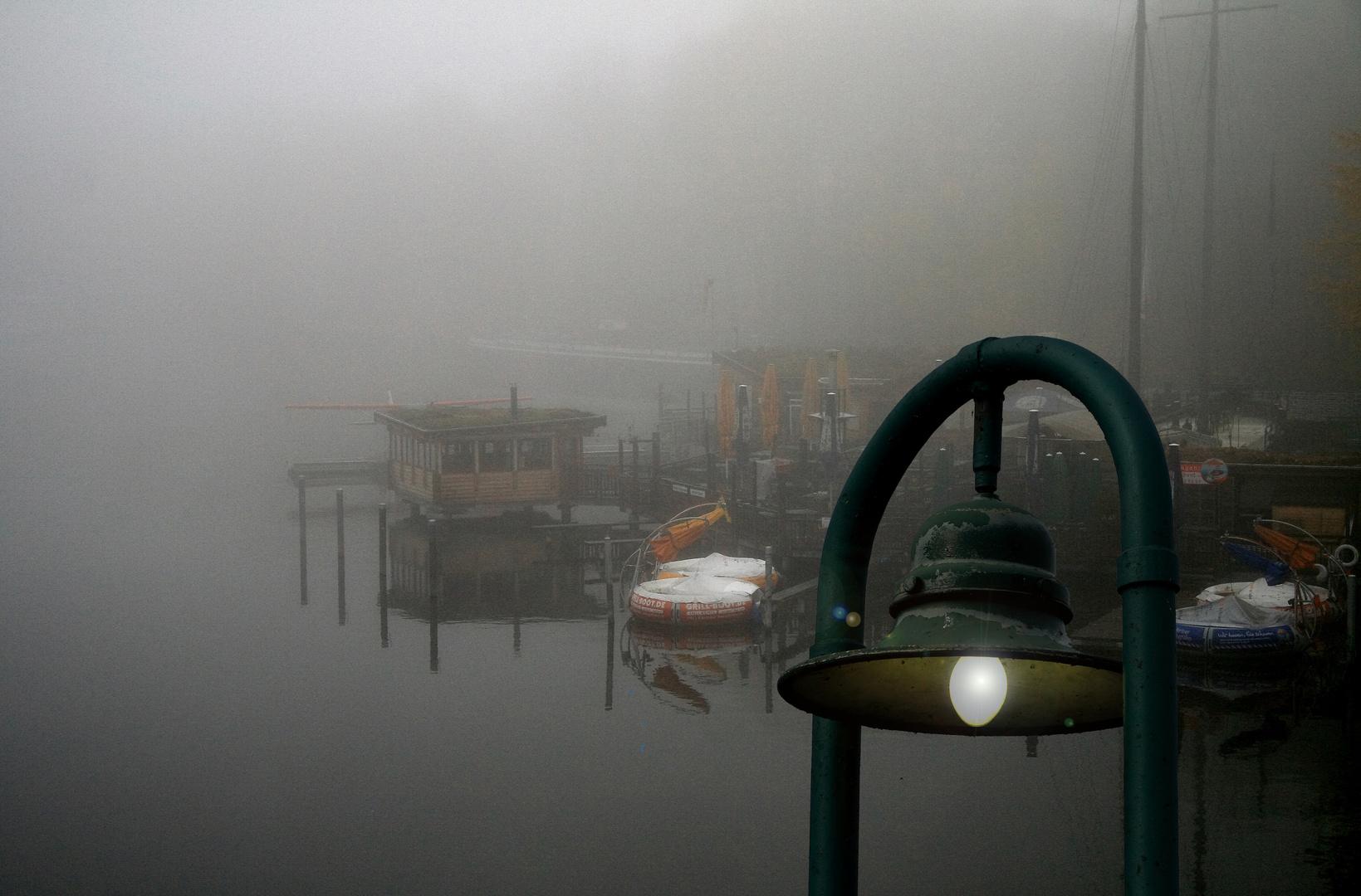 Nebel über der Spree