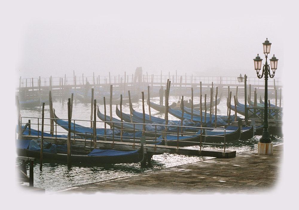 Nebel über Venedig