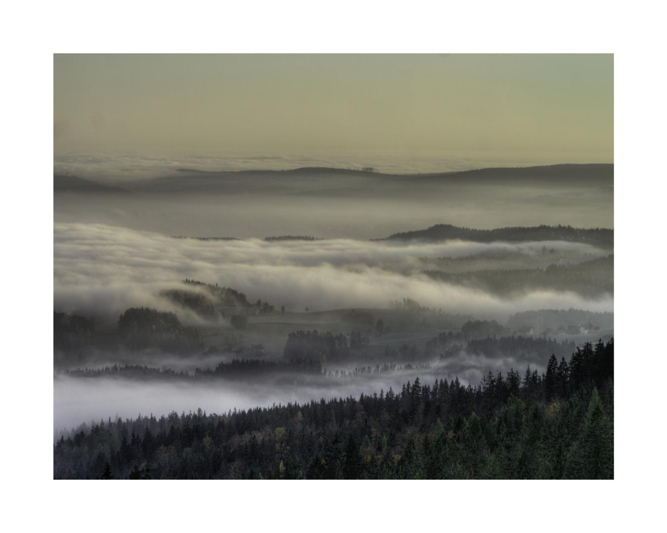 Nebel übern Tal