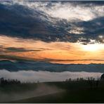 Nebel und Wolken