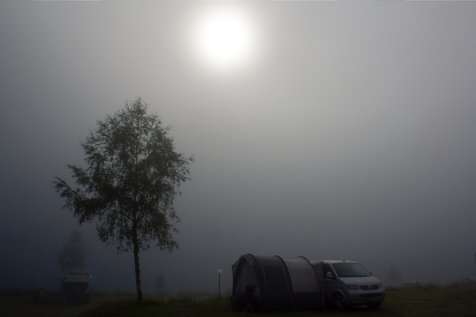 Nebelcamping