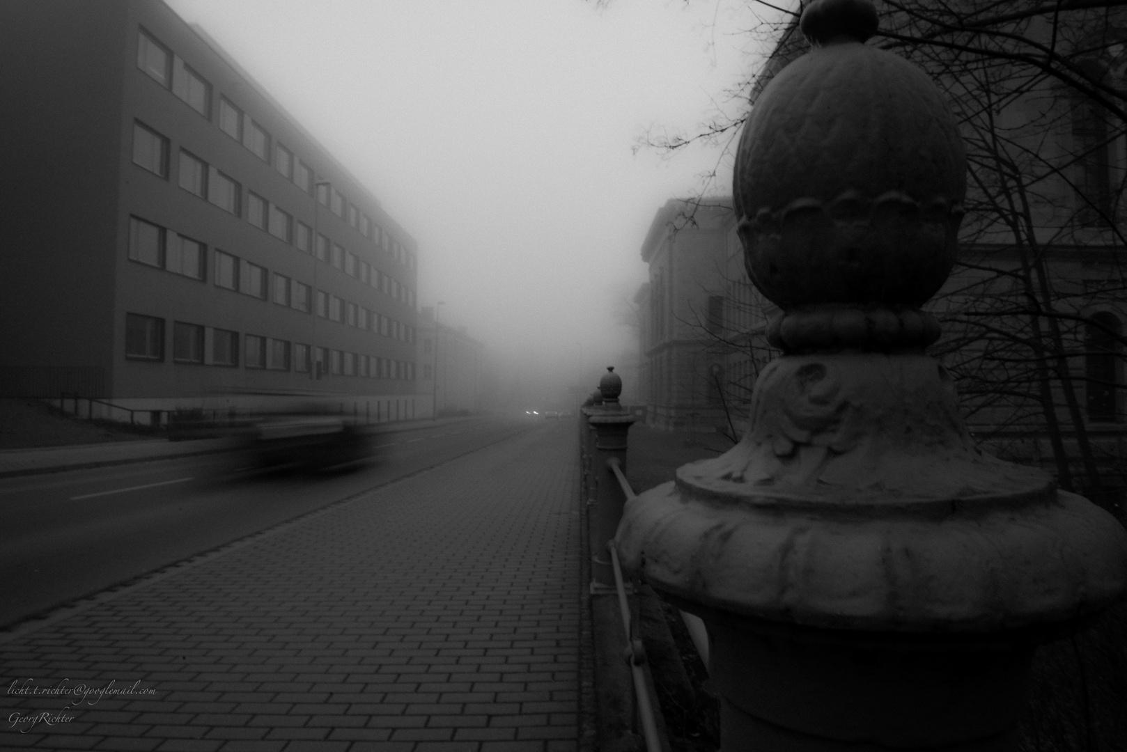 Nebelgeländer