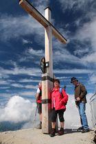 Nebelhorn Gipfelkreuz 2224m
